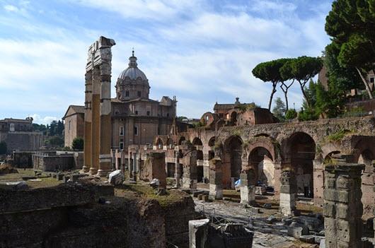voyage petit budget rome