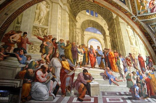 musées Vatican fresque