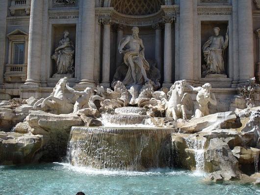fontaine de Trévi