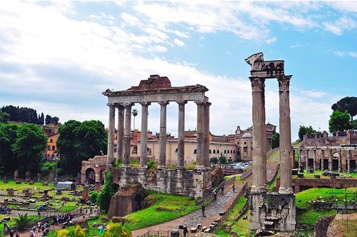 visite forum romain